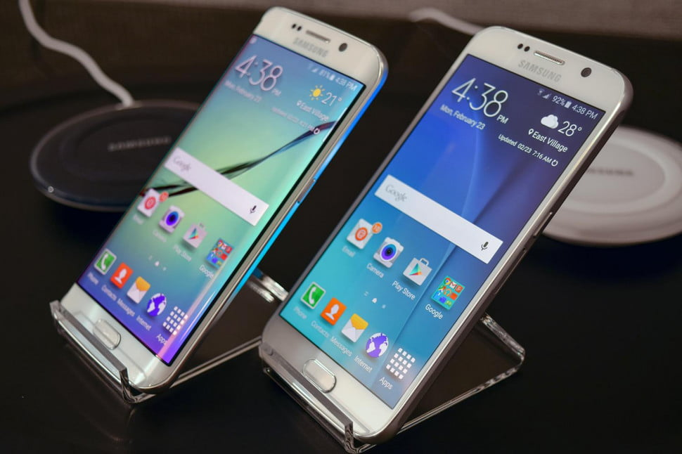 how to open samsung galaxy s6 edge