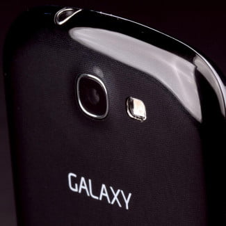 Samsung Galaxy Express review top back angle