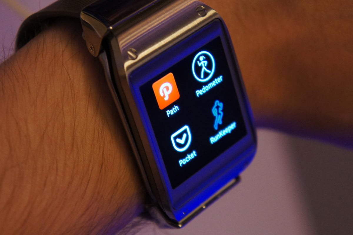 galaxy gear  rumored for early samsung hands on menu