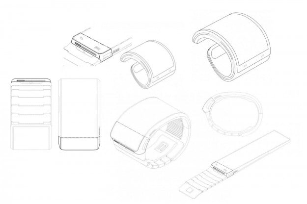 Samsung Galaxy Gear rumor roundup patent images