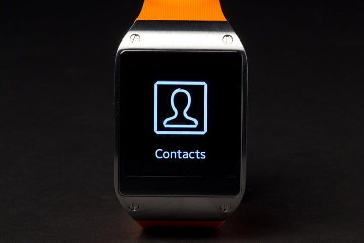 samsung galaxy gear review smartwatch contacts