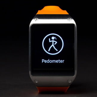 samsung galaxy gear smartwatch review pedometer