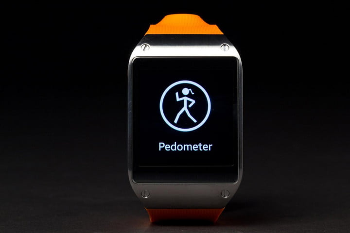 samsung galaxy gear review smartwatch pedometer