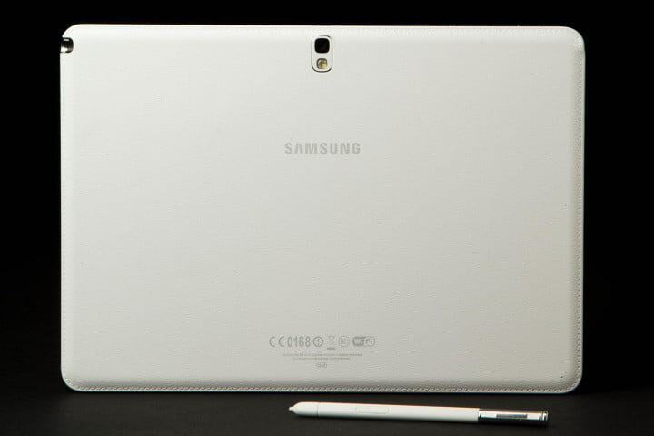 samsung galaxy note  review back