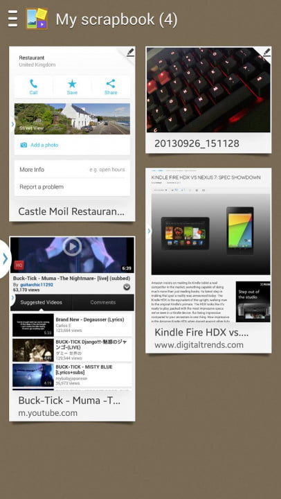 samsung galaxy note  review android scrapbook