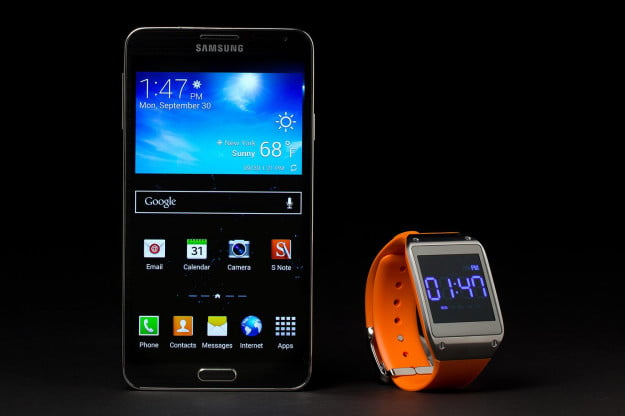 samsung galaxy note 3 galaxy gear