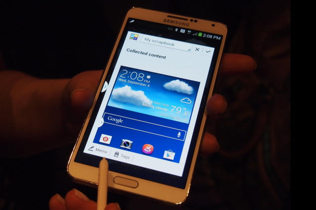 Samsung Galaxy Note 3 Hands On Collected Content
