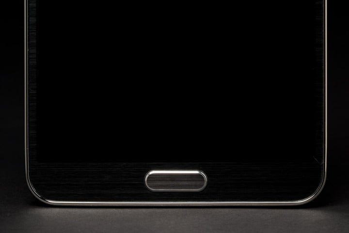 samsung galaxy note  review home button macro