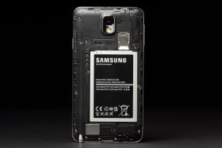 samsung galaxy note 3 rear battery