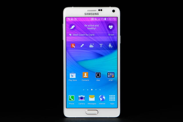 samsung assures people find mobile perfectly safe galaxy note  front