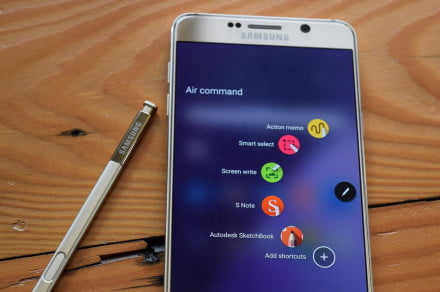 Samsung Galaxy Note 5 review stylus macro