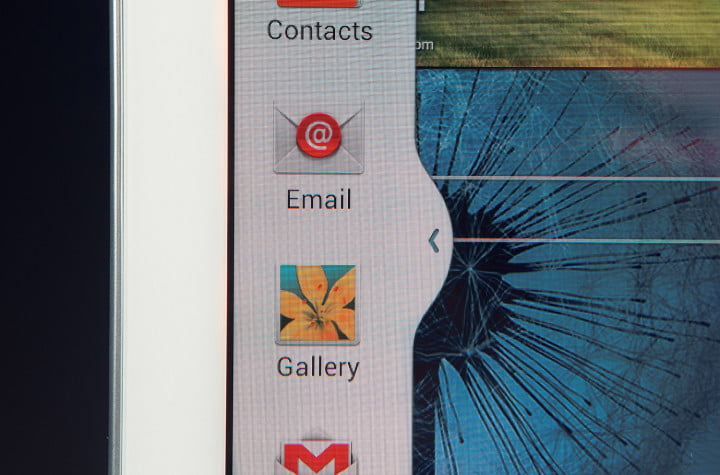samsung galaxy note  review left side taskbar