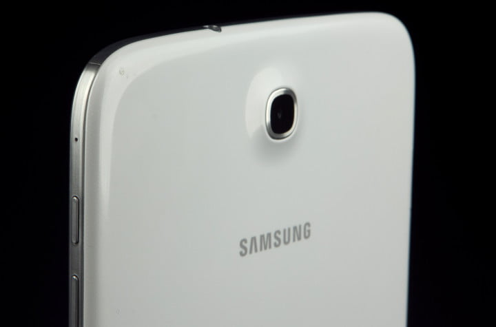 samsung galaxy note  review rear camera angle
