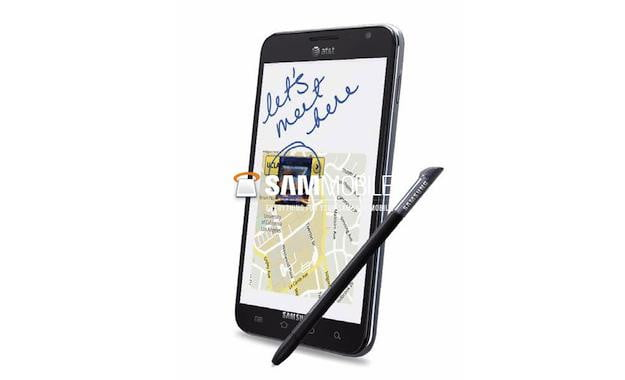 Samsung Galaxy Note AT&T Leak