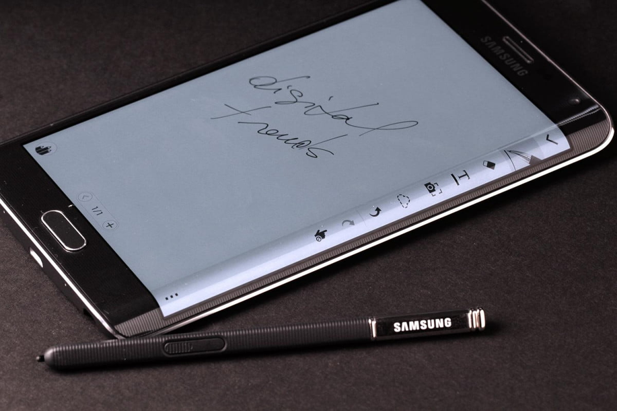 samsung to stop smartphone sales in japan galaxy note edge side top