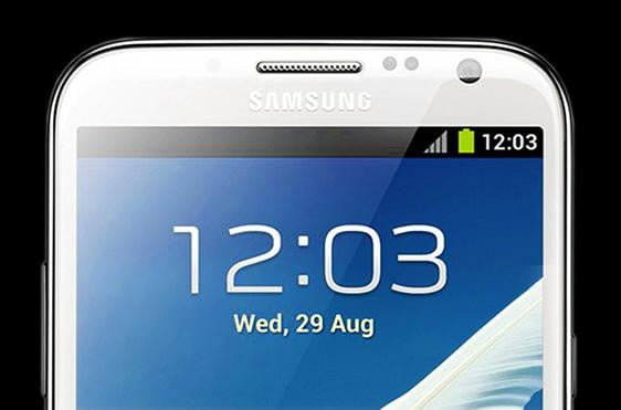 lg optimus g pro vs samsung galaxy note  ii display