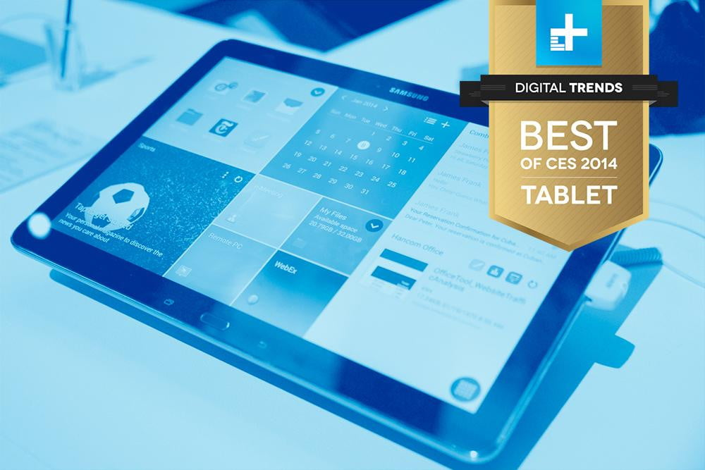 Samsung Galaxy Note Pro 12 best of ces 2014