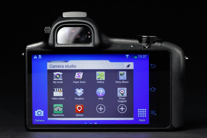 samsung galaxy nx review camera studio