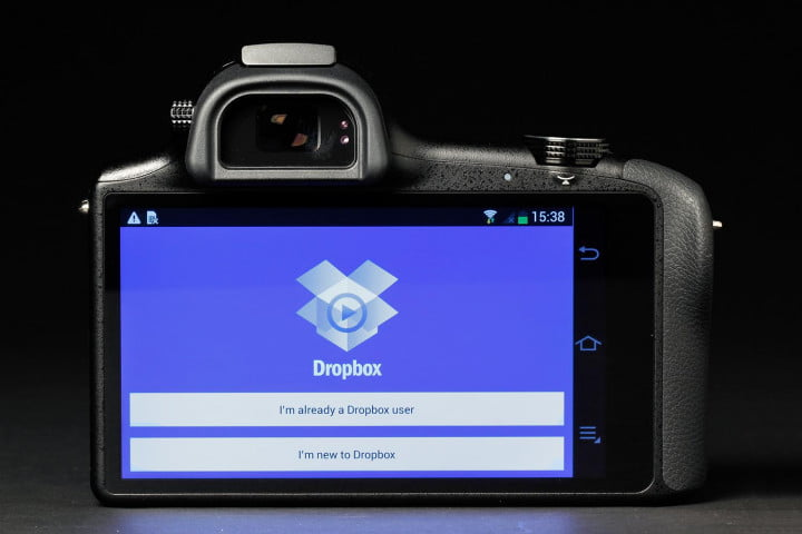 samsung galaxy nx review dropbox