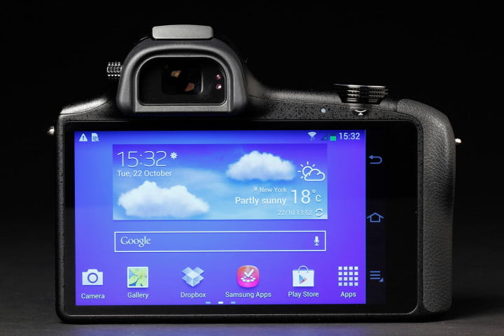 samsung galaxy nx review menu
