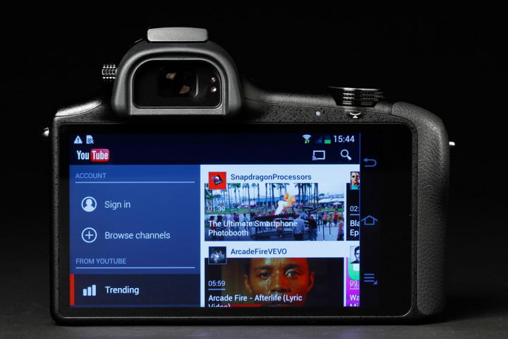 samsung galaxy nx review youtube