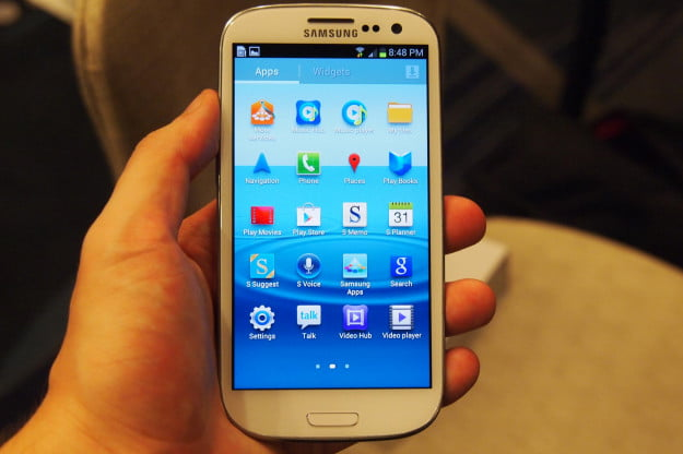 Samsung Galaxy S3 screen
