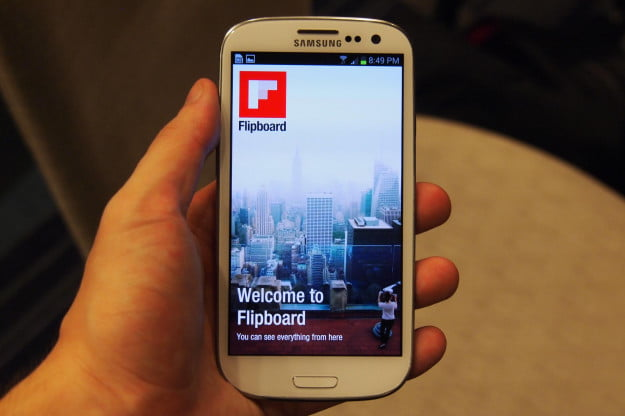 Flipboard exclusive app for the Samsung Galaxy S3