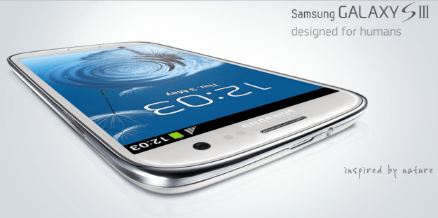 Samsung Galaxy S3 inspired by nature