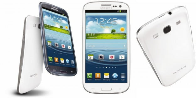 Samsung Galaxy S3 from all angles