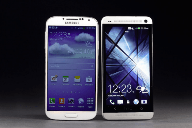 samsung galaxy s  trounced htc one first two months availability