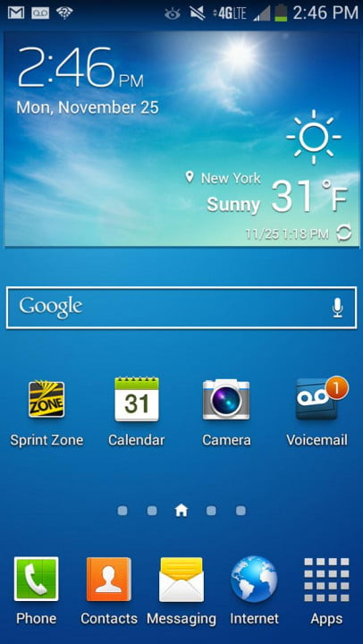 samsung galaxy s  mini review screenshot