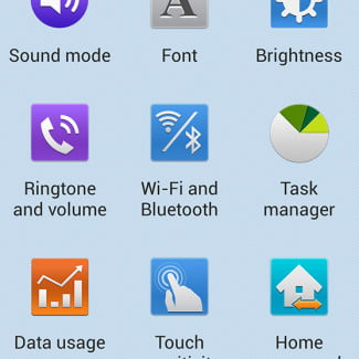 samsung galaxy s4 screenshot easy settings