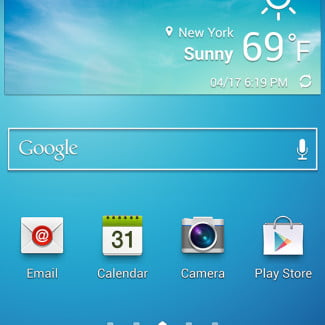 samsung galaxy s4 screenshot google svoice