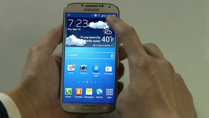 samsung announces the galaxy s  at new york event software