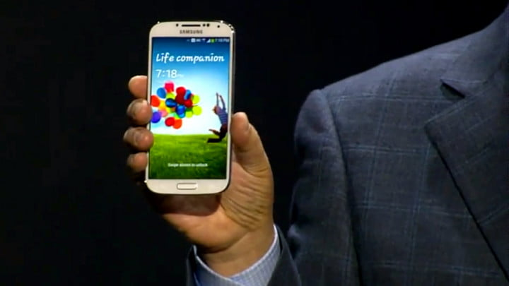 samsung announces the galaxy s  at new york event white