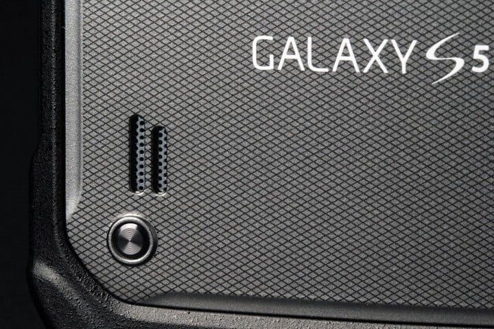 samsung galaxy s  active review back speaker
