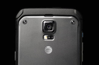 Samsung Galaxy S5 Active back top