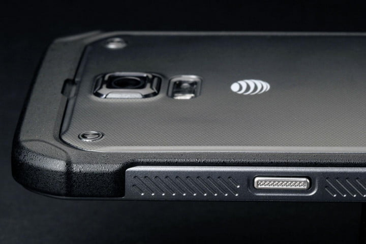 samsung galaxy s  active review top back left