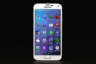 Samsung Galaxy S5 review android screen