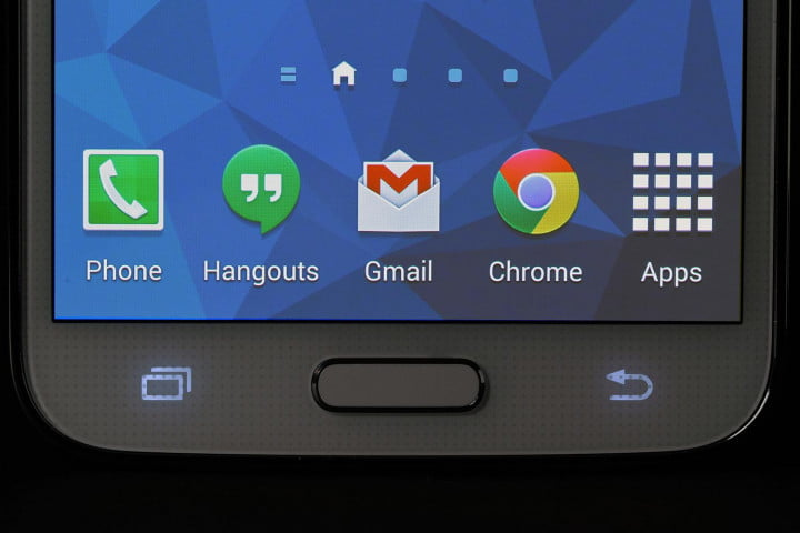 samsung galaxy s  review front macro home button