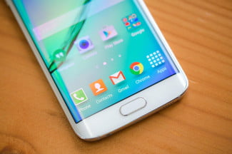 Samsung Galaxy S6 Edge bottom screen