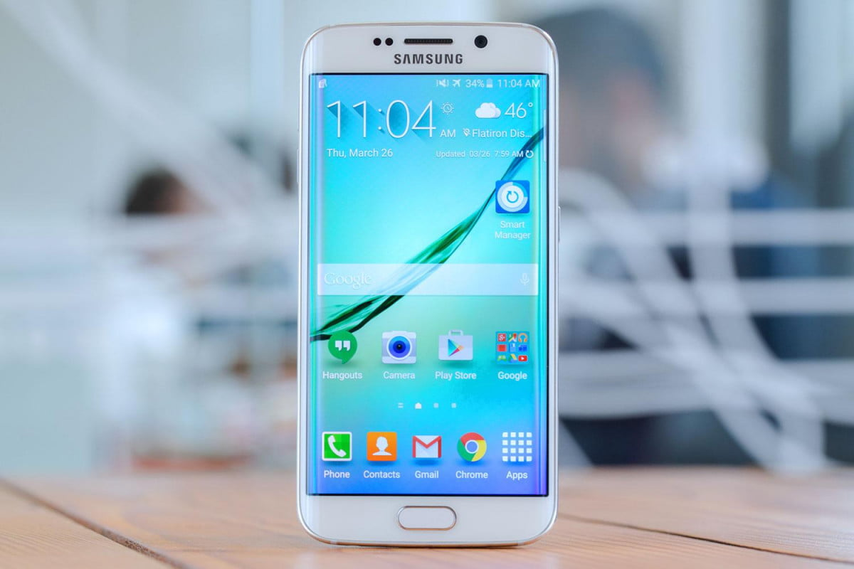 samsung  k screen news galaxy s edge home