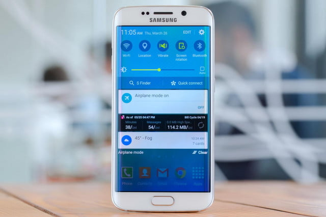 t mobile samsung promotion leak galaxy s  edge quick settings
