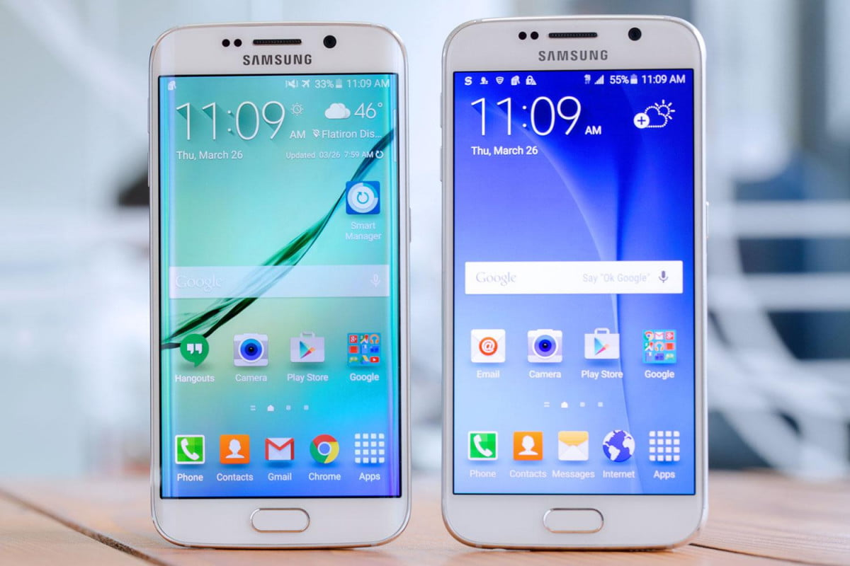 android is struggling in europe and samsung may be its best hope for a turnaround galaxy s  edge side by