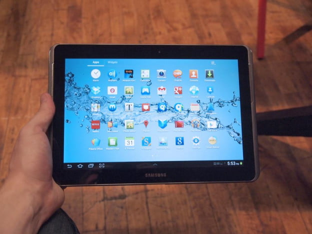 The Samsung Galaxy Tab 10.1 2 comes with many apps preinstalled, most of which will try to sell you content.