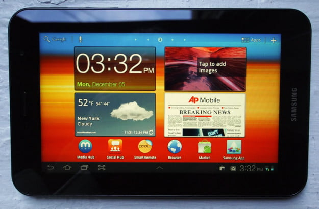 samsung-galaxy-tab-7-plus-landscape-screen-weather-news