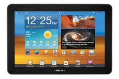 samsung galaxy tab  review screen front