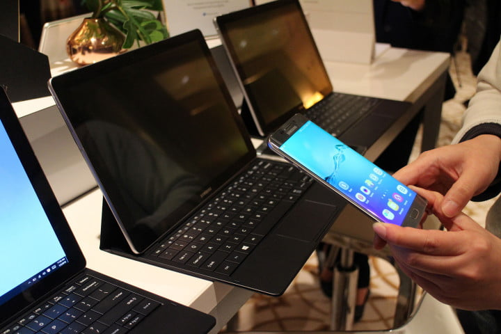 samsung tabpro s hands on ces  galaxy