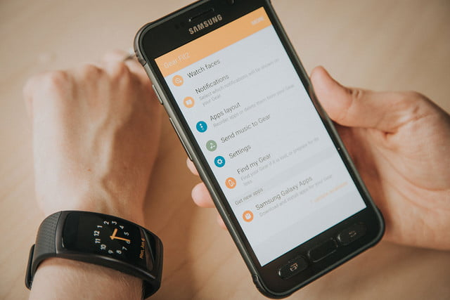 samsung s health features gear fit