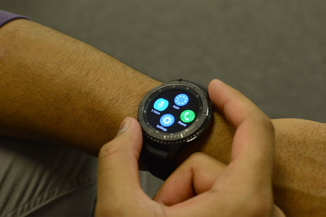 samsung gear s  ios compatibility frontier review
